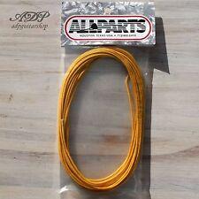 FIL pour CABLAGE controle TELECASTER ® VINTAGE Cloth Wire 22 AWG 760cm JAUNE