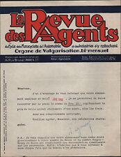 """PARIS (XVII°) """"REVUE des AGENTS"""" du CYCLE & AUTOMOBILES ,ORGANE de VULGARISATION"""