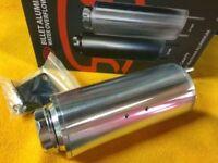 0.7L 6mm Radiator overflow header tank Universal polished billet aluminium