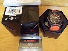 Casio Men G-Shock Aviation Twin Sensor Ana/Digital Orange Resin Watch GA1000-4A