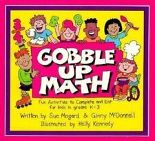 Primary Math: Gobble up Math, Grades K-3 : Fun Activities to Complete and Eat b…