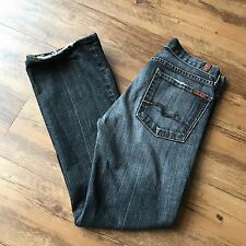 Seven For All Mankind Womens Jeans Size 27 Casual Daily Gray Bootcut