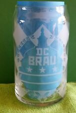 """2 ~ DC Brau Brewery Wash DC """"Halo Can Glasses"""" >Collector - Home Bar - Man Cave"""