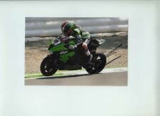 Tom Sykes fábrica Kawasaki ZX-10R WSBK Monza 2012 Firmado fotografía 4