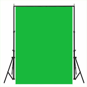 Background Backdrop Pure Green Screen Studio Solid Vinyl Photo Print 90X150CM