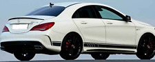 Mercedes Benz CLA AMG Decals