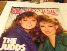 Judds Cover Country Music Magazine 1987 Tom T Hall Don Gibson Charlie Daniels