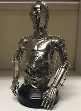 Gentle Giant Star Wars MBNA C-3PO CHROME PROTOCOL DROID c.2004 LE: 1300/2500 NIB