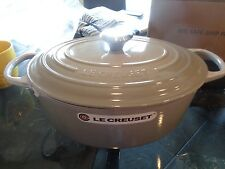 Williams Sonoma Le Creuset Signature Oval 6 3/4 quart dutch oven grey   New
