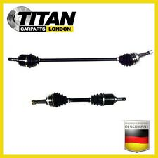 DRIVESHAFT LEFT AND RIGHT SIDE BOTH SIDES VAUXHALL CORSA C 1.4 1.7 1.8 BRAND NEW