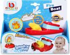 Bburago Fire Boat With Water Hose for the Bath Baby Toy +12 months