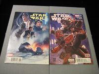 Star Wars #13 & #14 (Hastings Variant) (Vader Down 5 of 6) (2016, Marvel) READ
