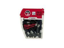 Milwaukee PH2 Tic Tac Shockwave 25mm Screwdriver Bit x 25