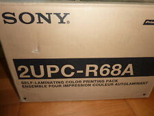 SONY 2UPC-R68A size laminate color print pack for exclusive use of UP-DR100