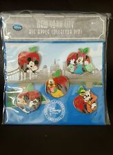 Disney Store New York-Big Apple Pin Set 5pieces