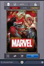 Topps Marvel Collect Gold Heroine Angela digital card Super Rare