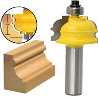 "1/2"" High Quality Alloy Shank Cutter Router Wood Cabinet Router Tool Bit Set"