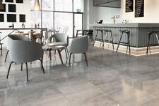 Grey Full Body Porcelain Tile High Gloss 60x60 wall floor kitchen bathroom