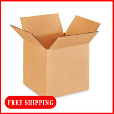 200 Pack 4x4x4 Cardboard Paper Boxes Mailing Packing Shipping Box Corrugated Car
