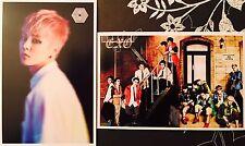 KPOP EXO Photo Cards Postcards SET #X2 Xiumin Baekhyun Chanyeol Kai Sehun Lay