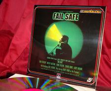 'FAIL SAFE' - Nuclear War Suspense on Vintage 12-Inch Laser Disc, Mint