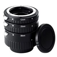 Meike MK-N-AF-B Auto Focus AF Macro Extension Tube Set for Nikon DSLR Camera