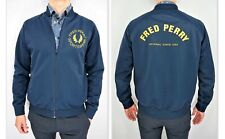 FRED PERRY Sportswear Men's Full Zip Vintage Spell-out Bomber Tracksuit size L