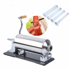 4.8L Stainless Steel Sausage Stuffer Maker Meat Filler Machine Commercial