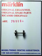 MARKLIN 70008 700080 RUOTA C.A. - RADSATZ d12 0/26,2
