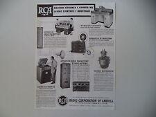 advertising Pubblicità 1944 RCA RADIO CORPORATION OF AMERICA