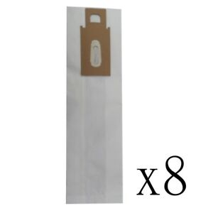 8 Allergen Micro Lined Vacuum Bags for ORECK CC XL XL2 XL21 Upright