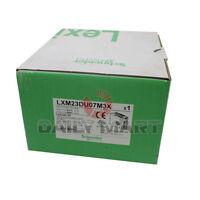NEW Schneider LXM23DU07M3X PLC Telemecanique 0.75kW Encoder Feedback Servo Drive