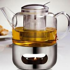 Stainless Steel Teapot Warmer Base Lighting Heating For Kungfu Tea Coffee