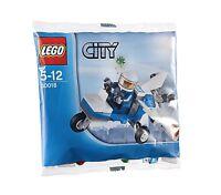 LEGO City 30018 Polizei Flugzeug Police Plane Promo Polybag Bag Beutel