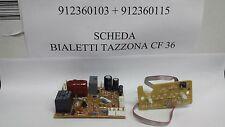 Scheda Elettronica Per Tazzona Bialetti CF 36 912360115 +Gruppo tasti 912360103