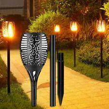 Solar Garden Torch Lights Dancing Flames 96 LEDs Waterproof Landscape Light