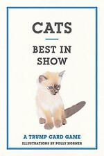 Cats: Best in Show: A Trump Card Game (Trump Card Games) by Polly Horner, NEW Bo