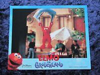 ELMO IN GROUCHLAND lobby card #5 ELMO, BIG BIRD