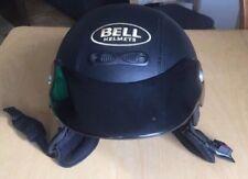 Motorradhelm Bell Jethelm Schwarz In Lederoptik