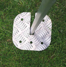 Awning safety leg plate for Fiamma Caravanstore (NEW VERSION)
