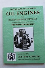 Petter Stationary & Marine Oil Engines also Electric Generating & Pump Sets