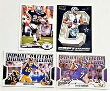 New listing LOT OF 4 STAR FOOTBALL CARDS