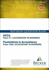 ACCA Approved - F1 Accountant in Business (FIA: FAB):... by Becker Professional