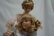 Danbury Mint mothers loving touch china doll