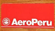 Vintage AEROPERU Ticket Jacket - *UNUSED*