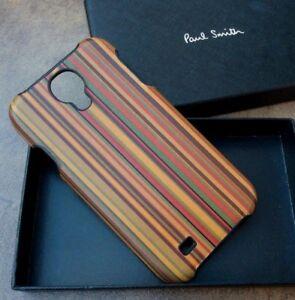 PAUL SMITH MULTI STRIPE GALAXY S4 MOULDED PHONE CASE BNIB