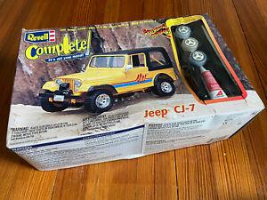Revell Jeep CJ-7 model kit
