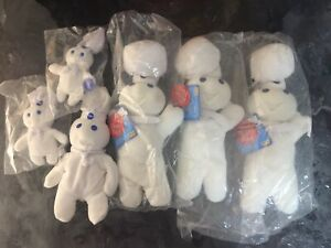 Pillsbury Doughboy Beanie Baby Lot.LQQK