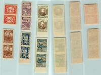 Central  Lithuania 🇱🇹 1921 SC  53-58 MNH vertical pairs. rtb1640