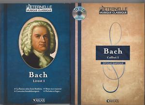 ÉTERNELLE MUSIQUE CLASSIQUE COFFRET 10 CD BACH  3172